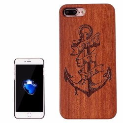 Anchor Engraved Wood iPhone 7 PLUS Case