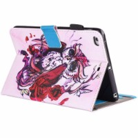 Baby Panda Leather Wallet iPad 2017 9.7-inch Case