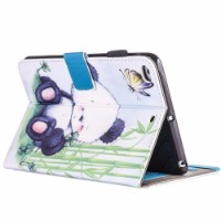 Artistic Owl Leather Wallet iPad 2017 9.7-inch Case