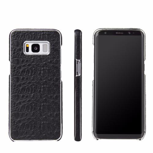 Black Fierre Shann Toothpick Genuine Cow Leather Wallet iPhone 7 PLUS Case