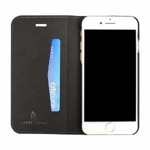 Black Fierre Shann Crocodile Genuine Cow Leather Wallet iPhone 7 Case