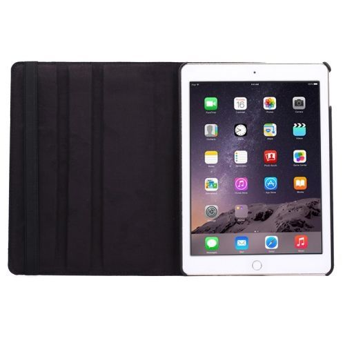 Black Flip Leather iPad Air 2 Case