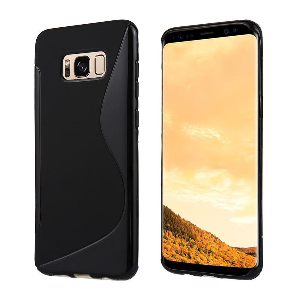 Black S-Line Grippy Samsung Galaxy S8 PLUS Case