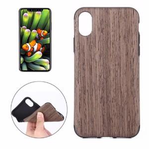 Black Rose Wood Texture iPhone 8 Back Case