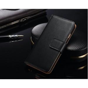 Black Slim Leather Wallet iPhone 8 PLUS & 7 PLUS Case