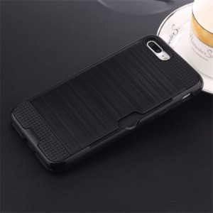 Black Strong Card Slot iPhone 7 PLUS Case
