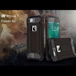 Black Tough Armor iPhone 7 Case