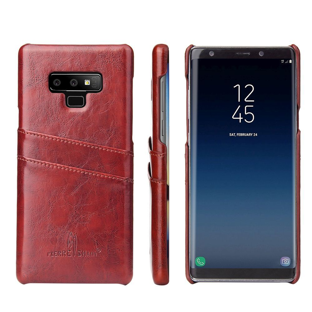 Brown Deluxe Leather Samsung Galaxy Note 9 Case