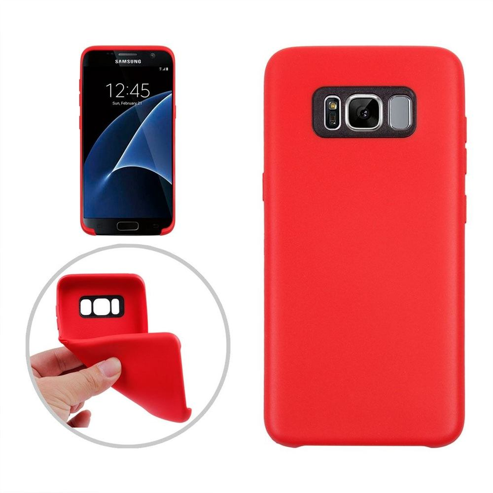 Classic Red Smooth Samsung Galaxy S8 Plus Case