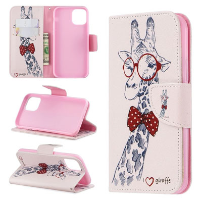 iPhone 11 Pro Case, Fun Patterned PU Leather Wallet Folio Cover, Kickstand