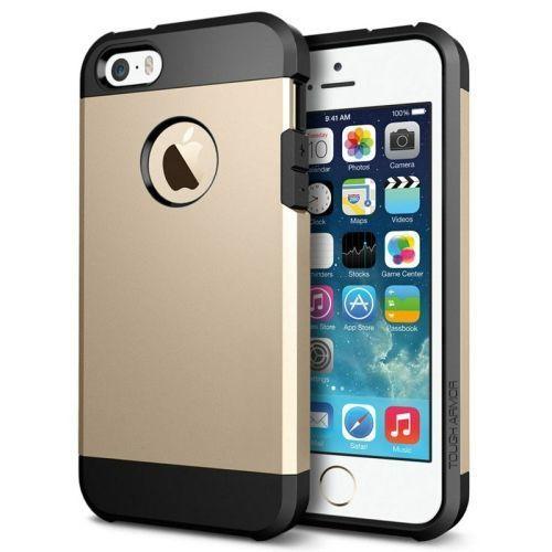 Gold Armor iPhone 5, 5S & SE Case