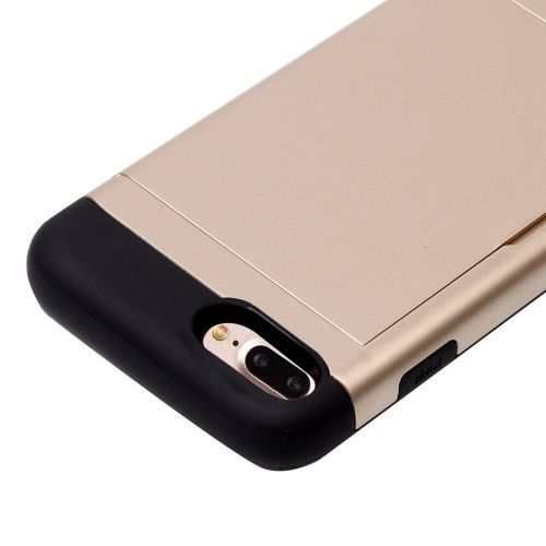 Gold Blade Card Slot iPhone 7 PLUS Case