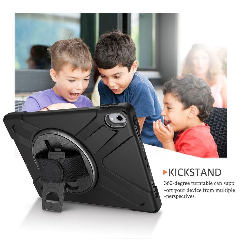 Black Shoulder & Hand-strap Armor iPad Pro 11 Inch (2018) Case