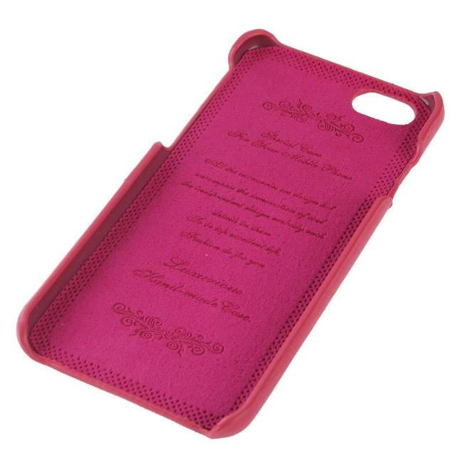 Pink Handmade Genuine Leather Fashion iPhone 6 & 6S Case