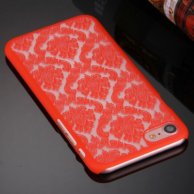 Red Mystical Flower case for your iPhone