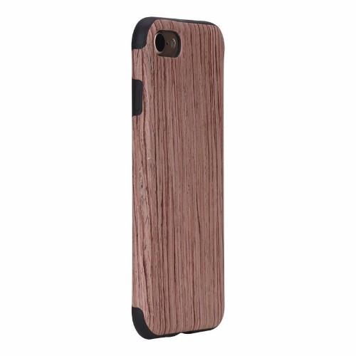Rosewood Grain TPU iPhone 7 Case