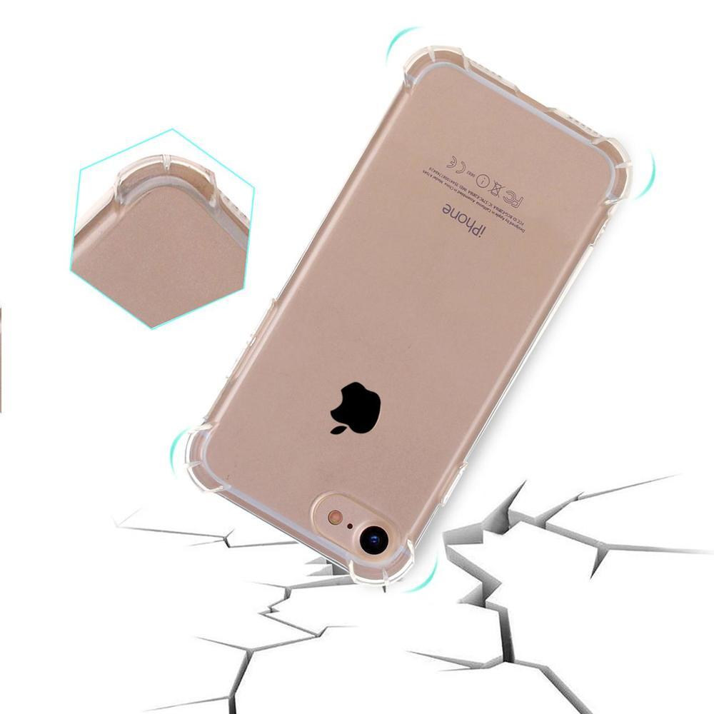Shockproof Grippy Transparent iPhone 7 Case