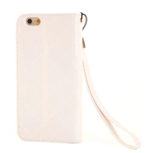 White Diamond Leather iPhone 6 PLUS & 6S PLUS Case
