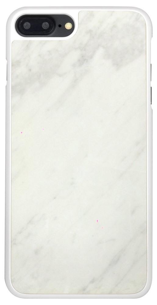 White Genuine Marble iPhone 7 PLUS Case