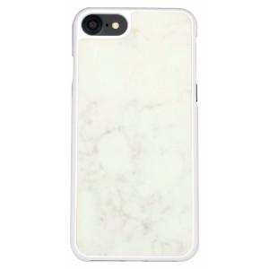 White Genuine Marble iPhone 8 & 7 Case