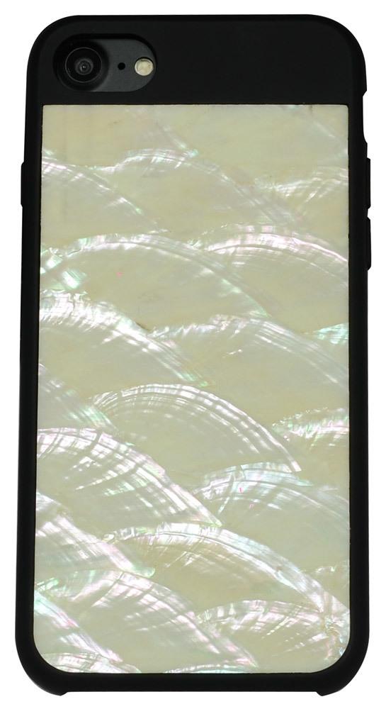 White Genuine Seashell iPhone 6 & 6s Case