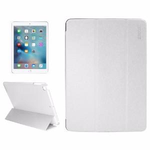 White Silk Textured Smart Leather iPad 2017 9.7-inch Case